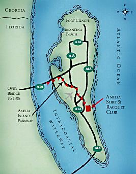 Amelia Island Map