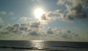 pretty cloud sunrise